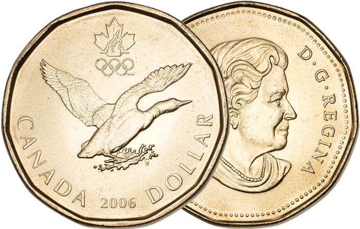 Canada Loonie takes flight