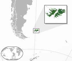 Falkland Islands location
